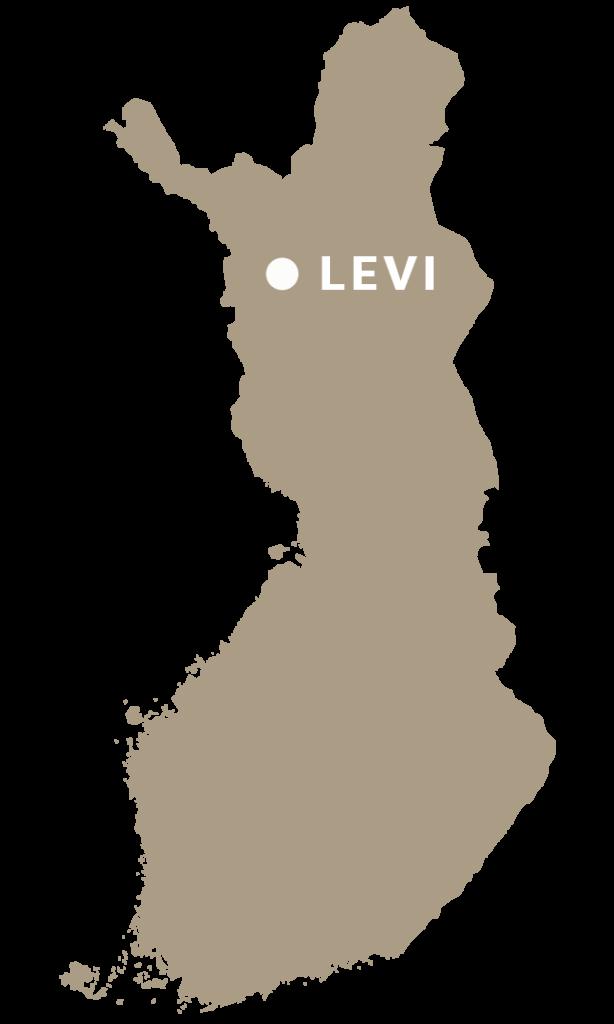 Saapuminen Leville